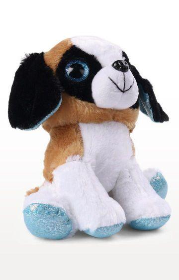 Hamleys | Saint Bernard Puppy Plush with Sparkle Eyes