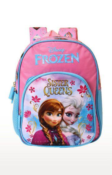 Hamleys | Pink Frozen Sisters Queen School Backpack