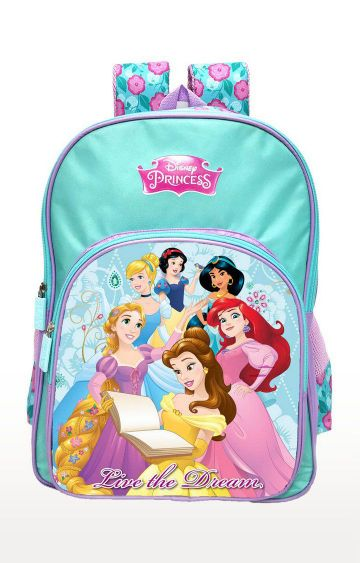 Hamleys | Blue Disney Princess Live The Dream School Backpack