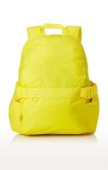 Hamleys | Yellow Elsa Let It Go Pom Pom School Backpack