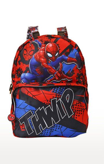 Hamleys | Spiderman Thwip Reversible School Bag