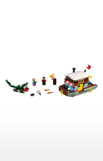 Hamleys | Lego Creator Riverside Houseboat Building Blocks
