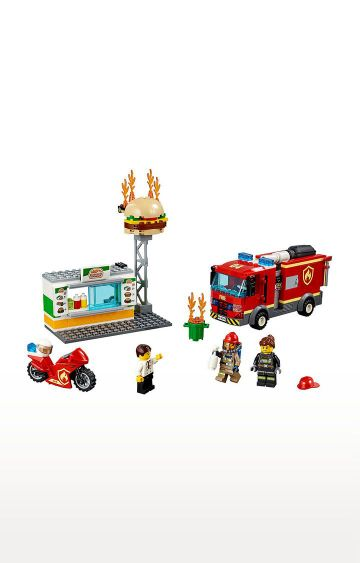 Hamleys | Lego City Burger Bar Fire Rescue Building Blocks