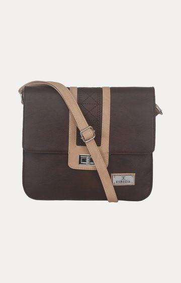 ESBEDA | Brown Messenger Bag