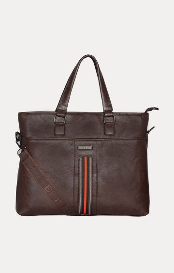 ESBEDA | Dark Brown Laptop Bag