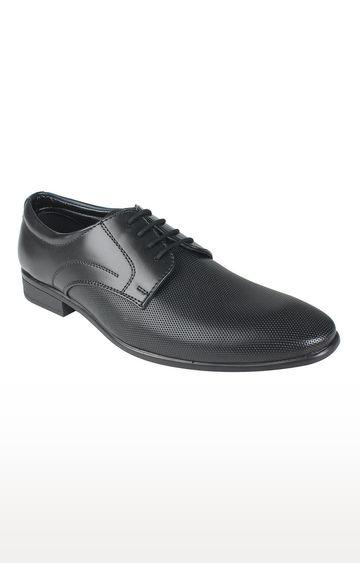 Vardhra   Black Derby Shoes