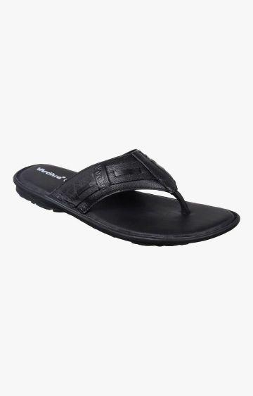 Vardhra | Black Sandals