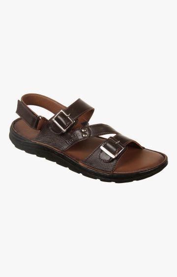 Vardhra | Brown Sandals