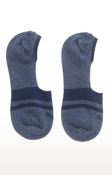 Puma | Blue Striped Socks - Pack of 2