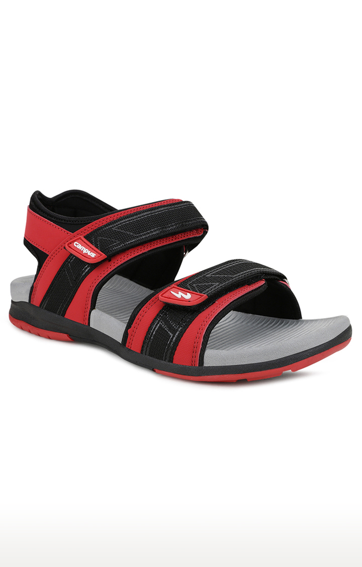 Campus Shoes | Red Floaters
