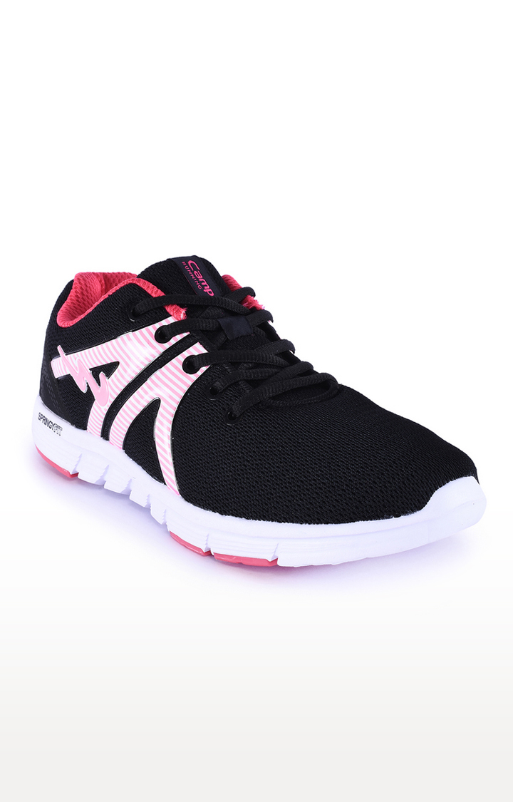 Campus Shoes   Black Sports Shoes