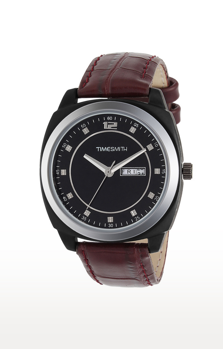 Timesmith Brown Analog Watch For Men
