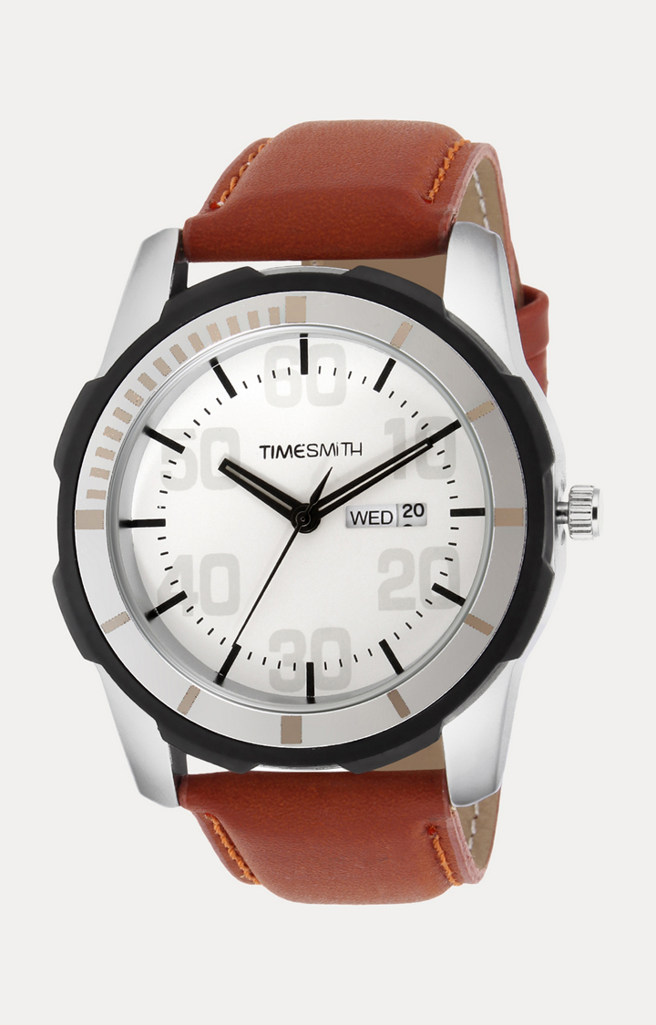 Timesmith   Timesmith Brown Analog Watch For Men