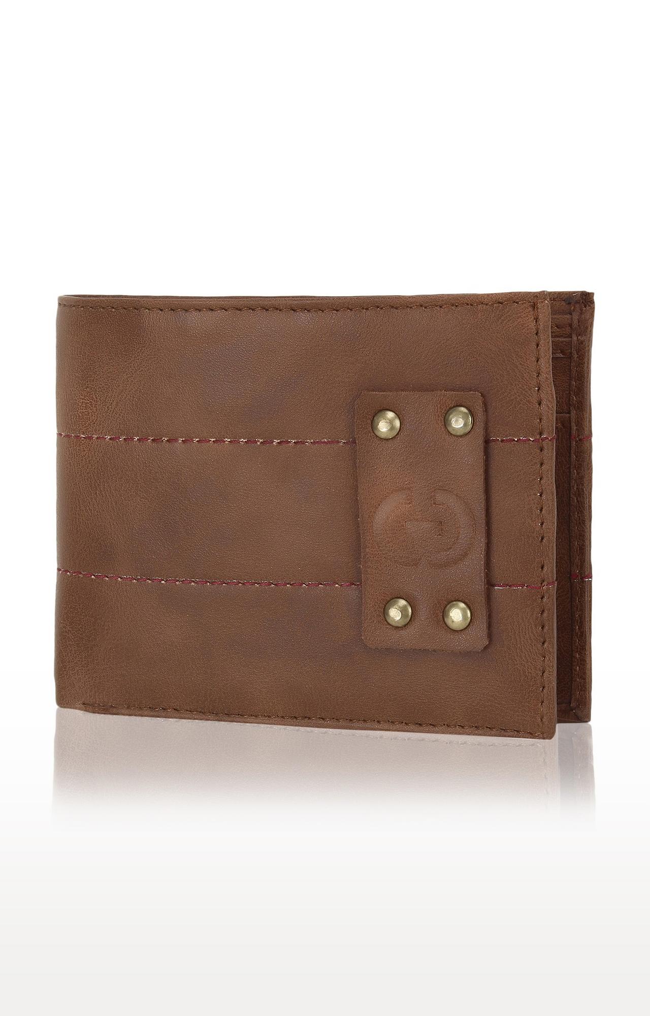 Greywood   Brown Wallet