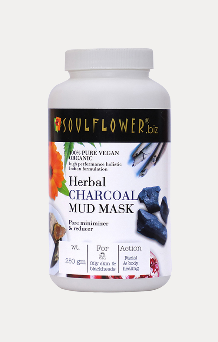 Soulflower | Herbal Charcoal Mud Mask