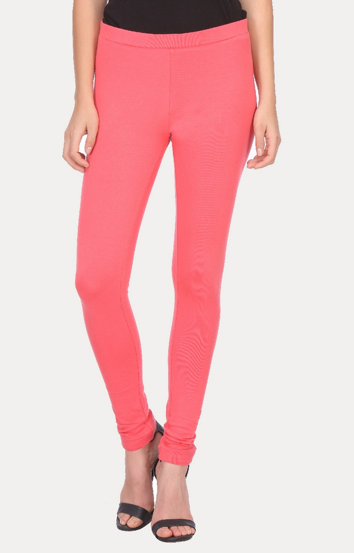 W | W Women Pink Color Tights