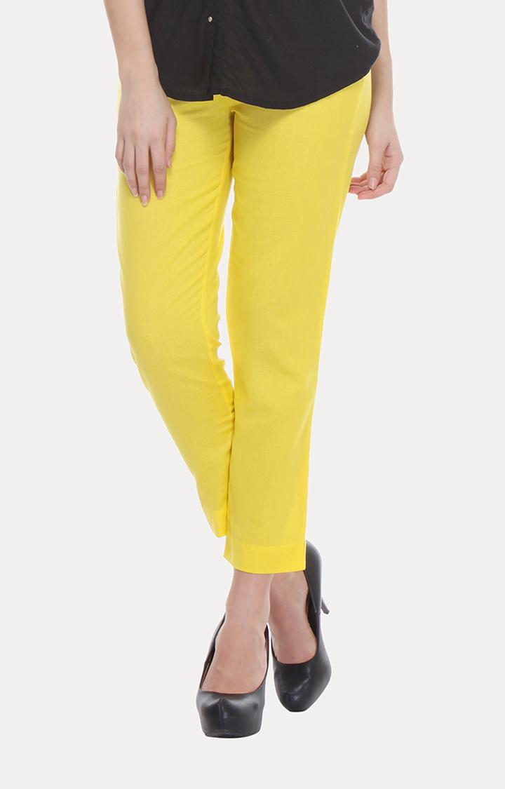W   W Women Multi Color Trouser