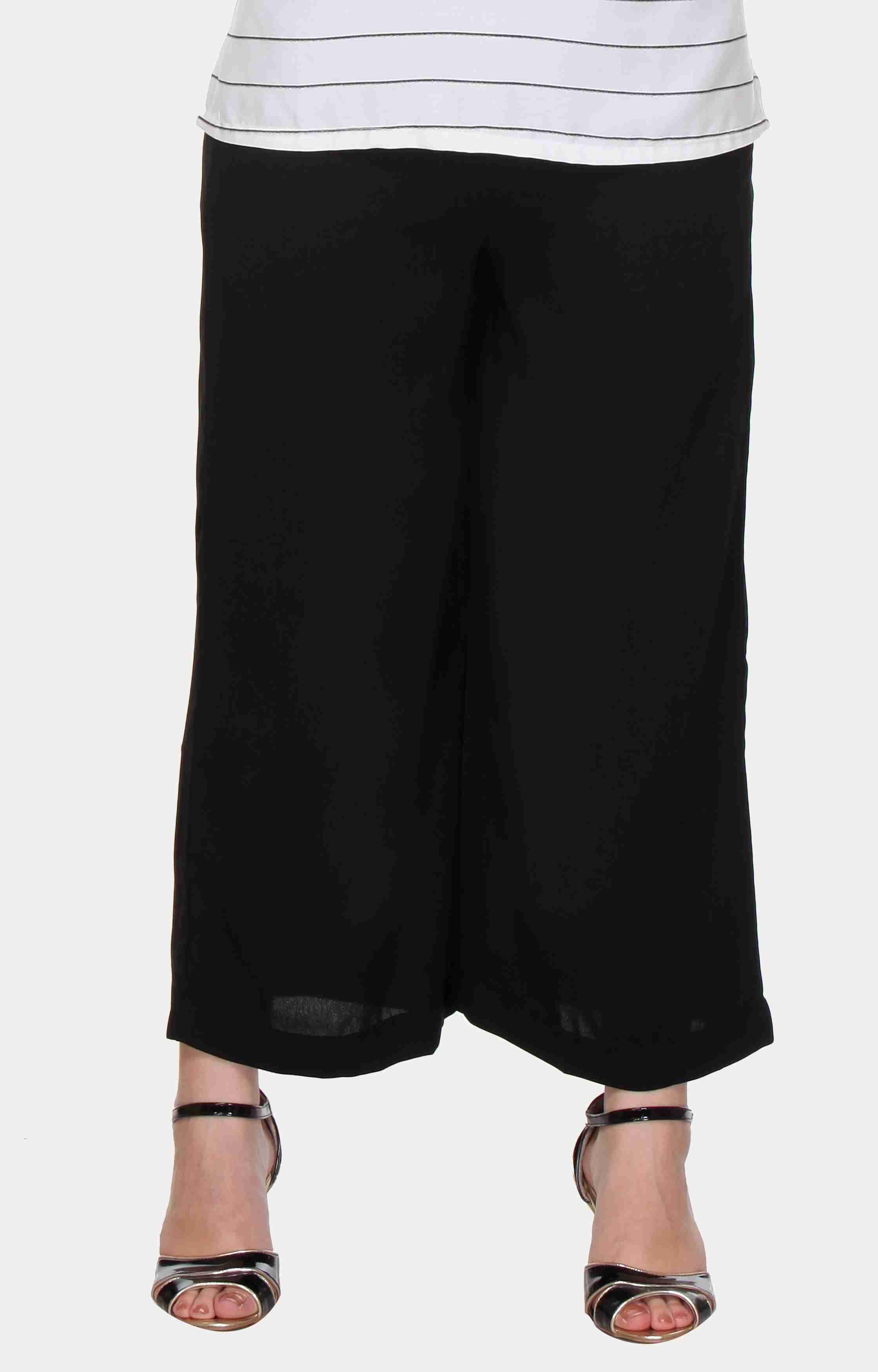 W | W Women Black Color Pants