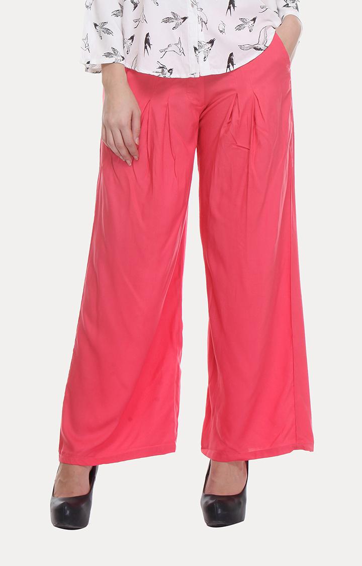 W | W Women Pink Color Pants