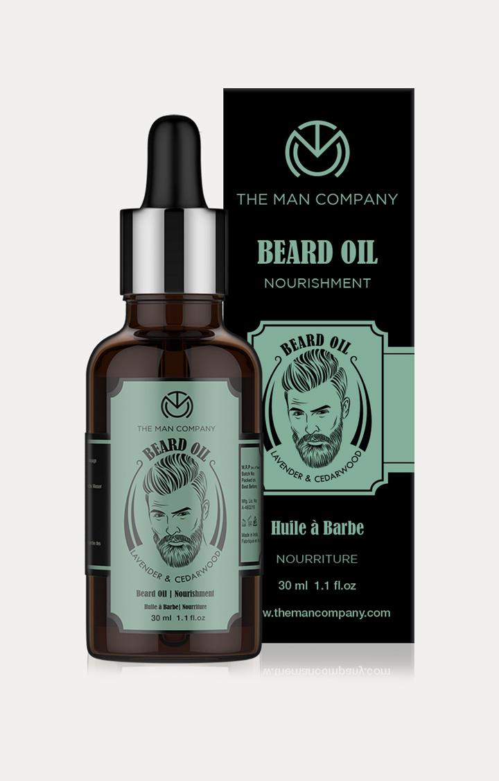 The Man Company   Lavender and Cedarwood Beard Oil - 30 ML