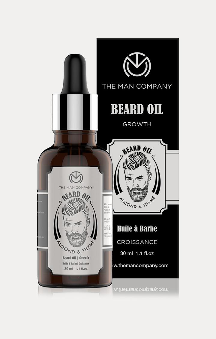 The Man Company | Almond and Thyme Beard Growth Oil - 30 ML