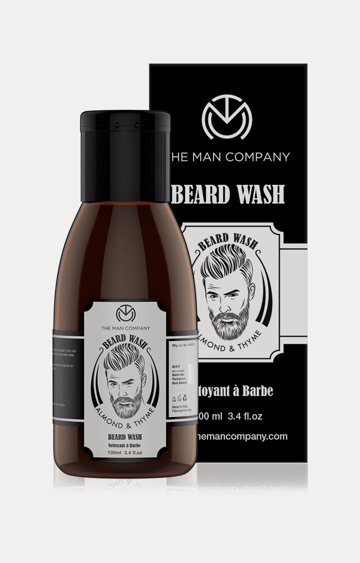 The Man Company | Almond and Thyme Beard Wash - 100 ML