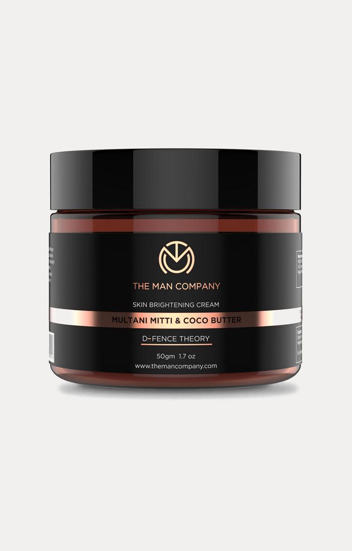 The Man Company | Multani Mitti and Coco Butter Skin Brightening Cream