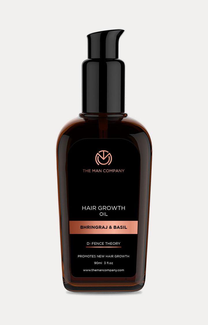 The Man Company | Bhringraj & Basil Hair Growth Oil - 90 ML