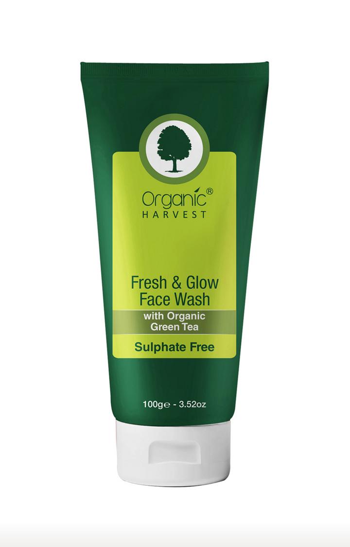 Organic Harvest | Fresh & Glow Sulphate Free Face Wash - 100ml
