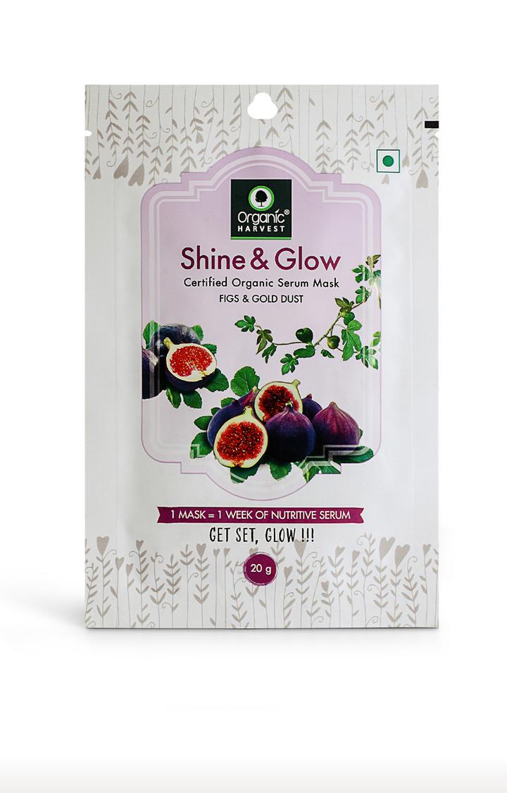 Organic Harvest | Shine & Glow Face Mask - 20g