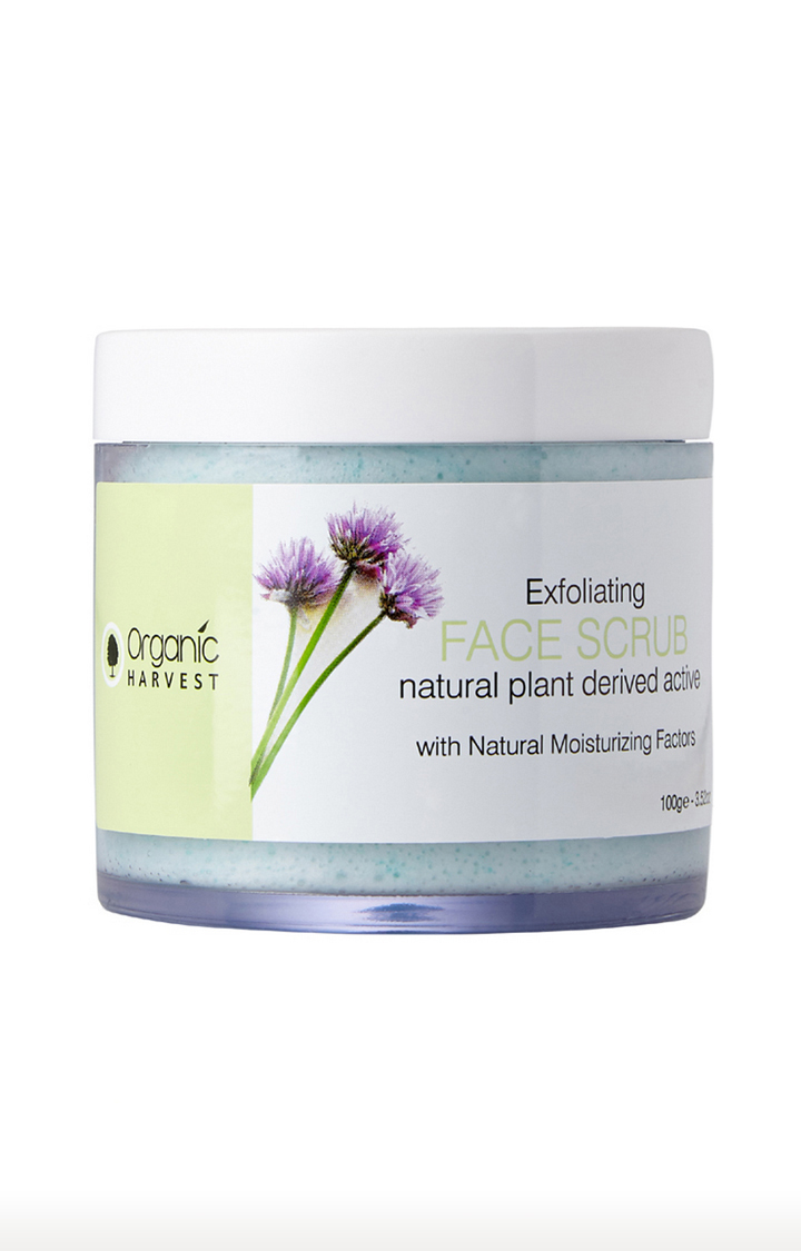 Organic Harvest | Exfoliating Face Scrub - 100g