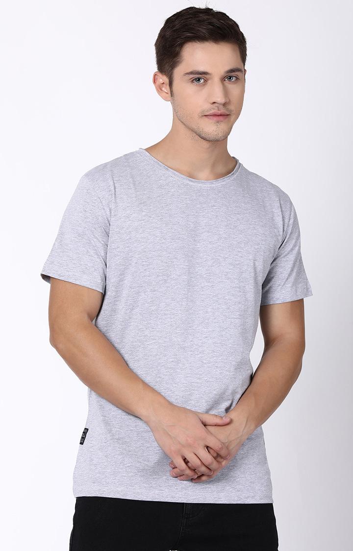 Blue Saint | Grey Melange T-Shirt