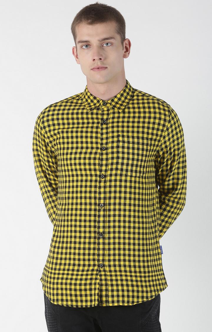 Blue Saint | Multicoloured Checked Casual Shirt