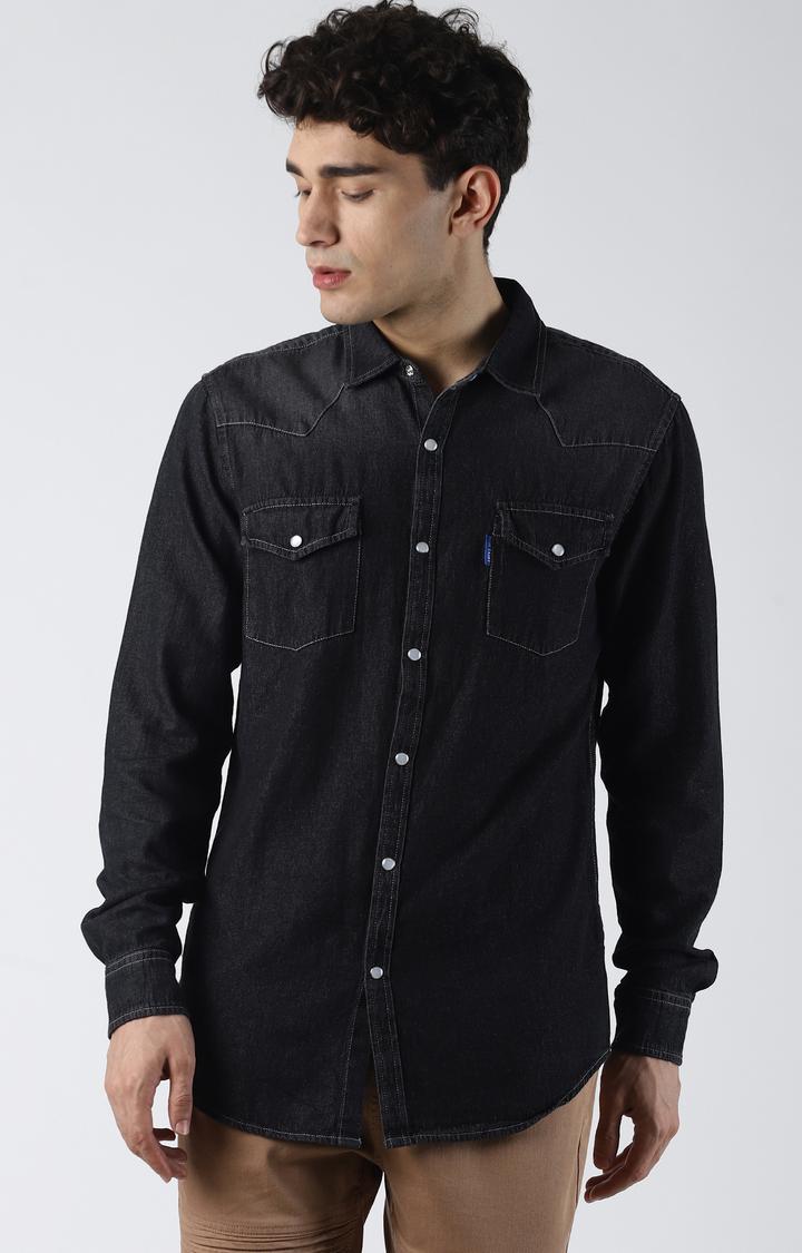 Blue Saint | Grey Solid Casual Shirt