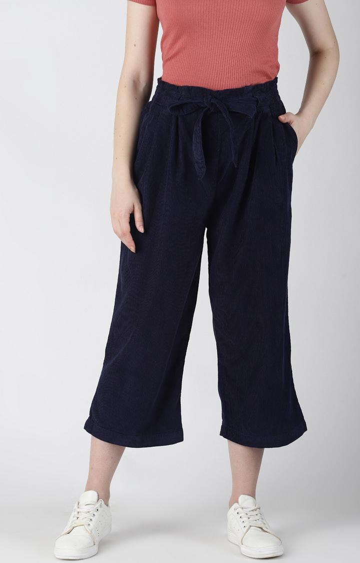 Blue Saint   Navy Capri Pants