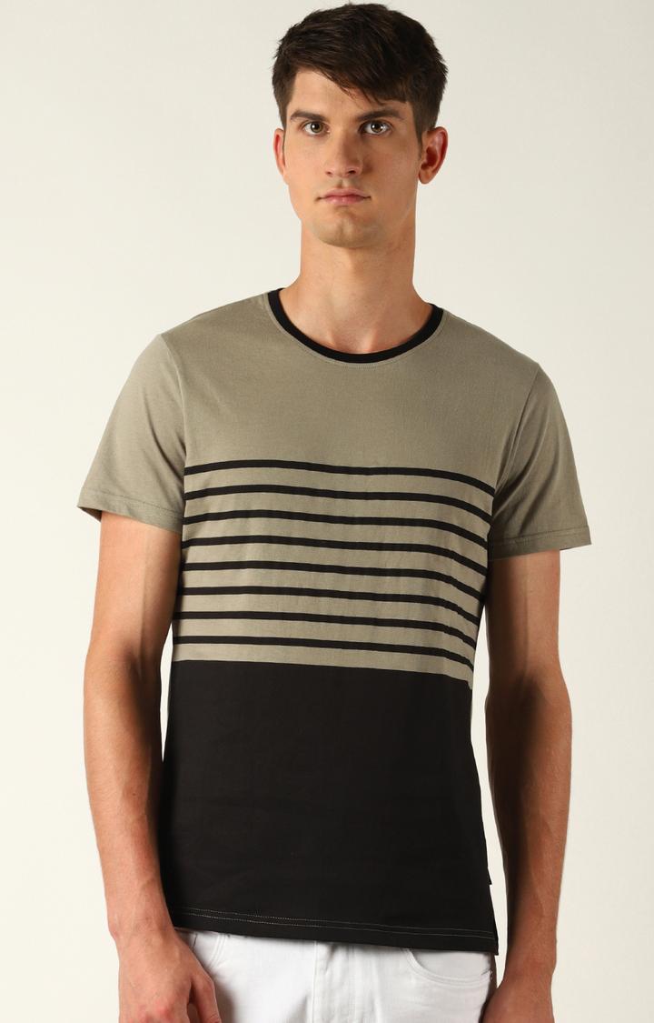 Blue Saint   Black Striped T-Shirt