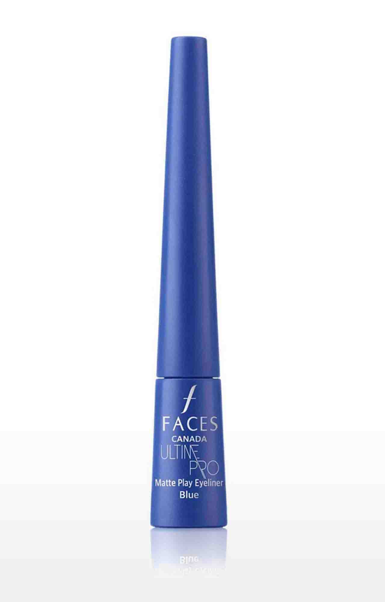 Faces Canada | Ultime Pro Matte Play Eyeliner - Sapphire