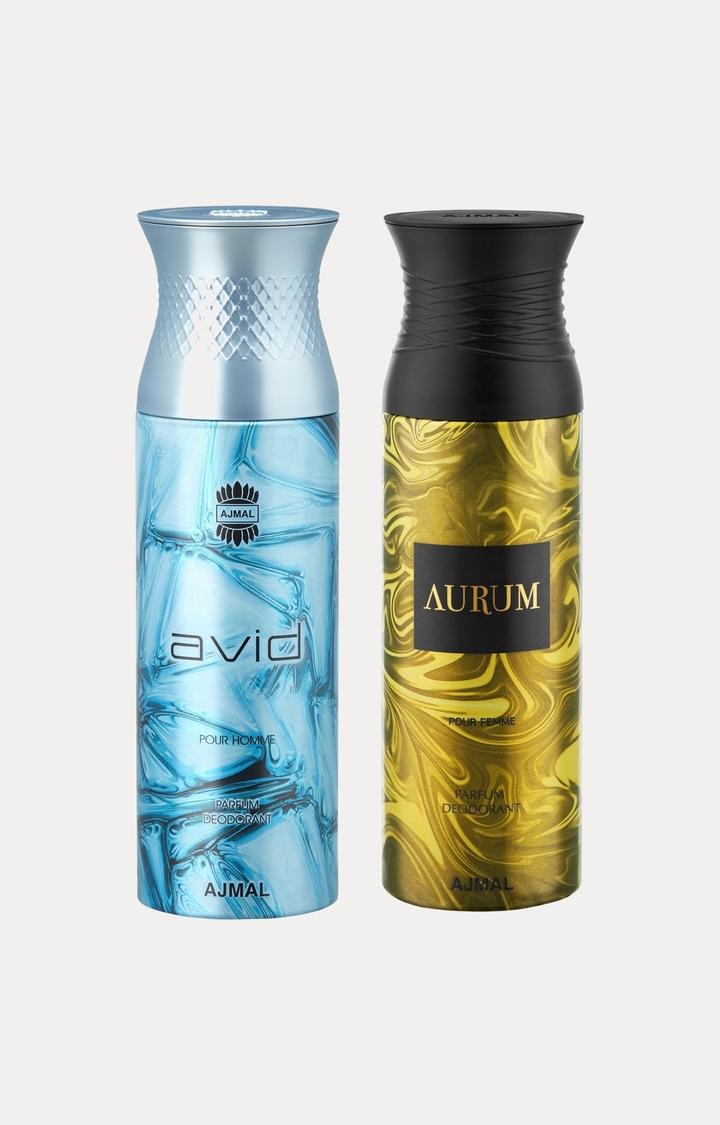 Ajmal | Avid and Aurum Deodorants - Pack of 2