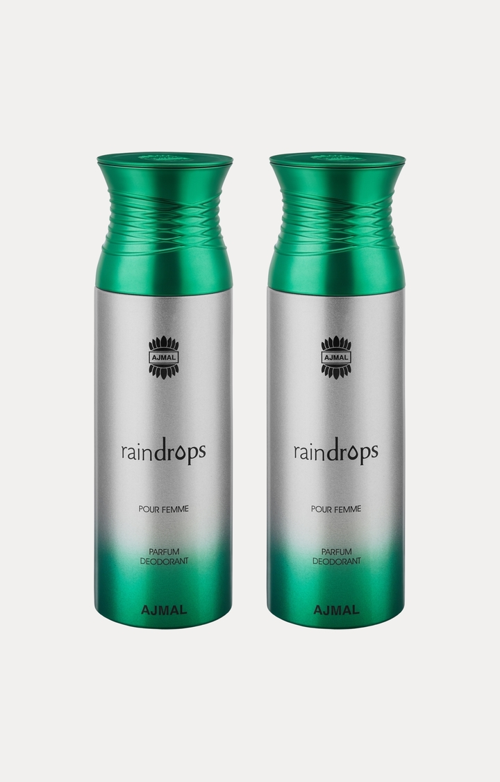 Ajmal | Raindrops Deodorants - Pack of 2