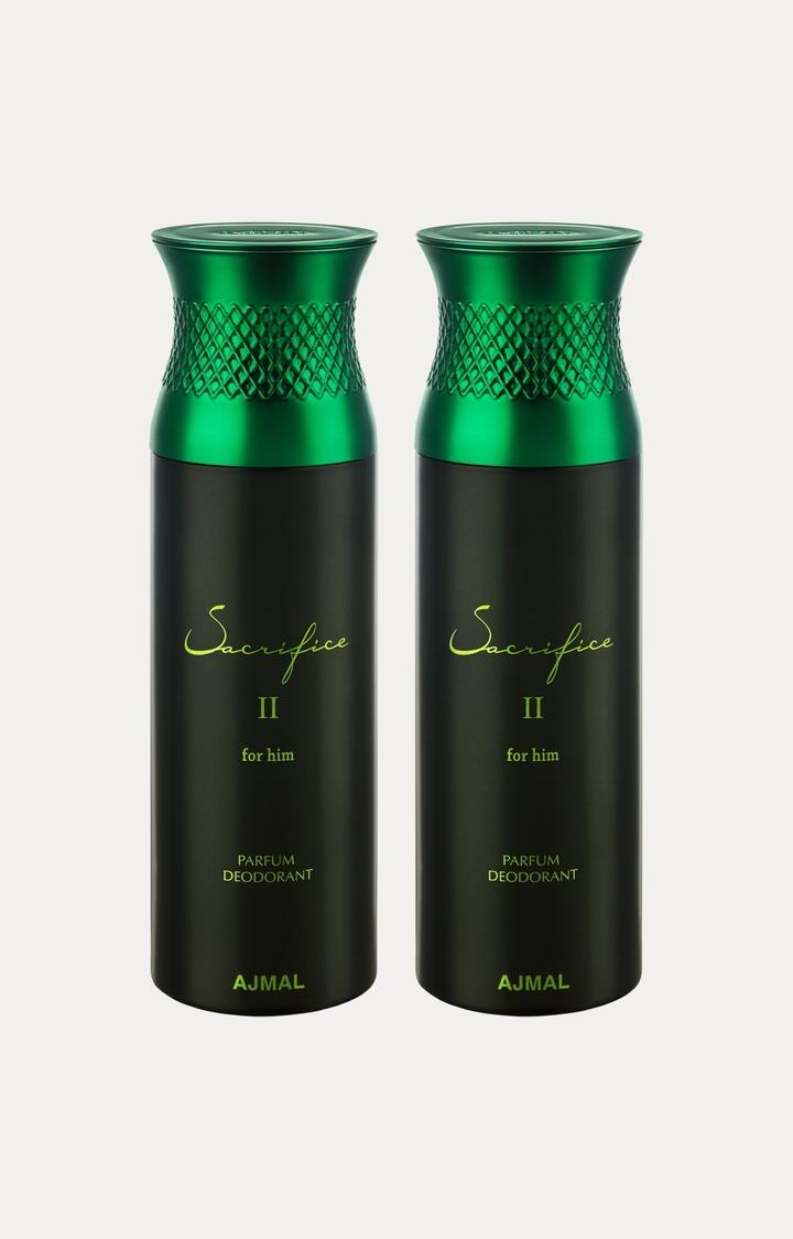 Ajmal | Sacrifice II Him Deodorants - Pack of 2