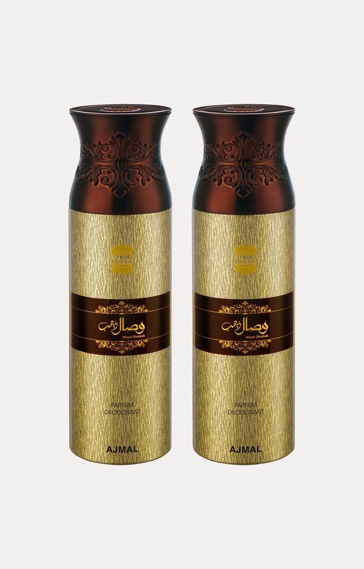 Ajmal   Wisal Dhahab Deodorants - Pack of 2
