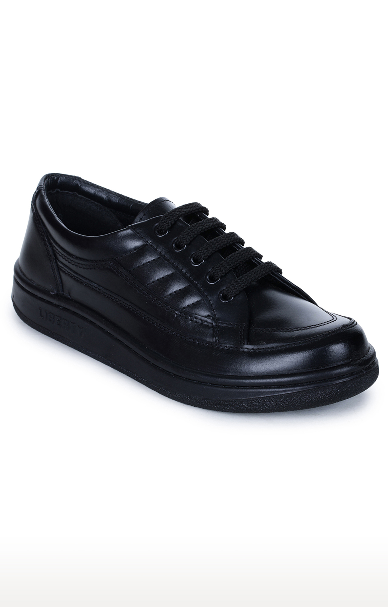 Liberty | Warrior by Liberty Black Derby Shoes