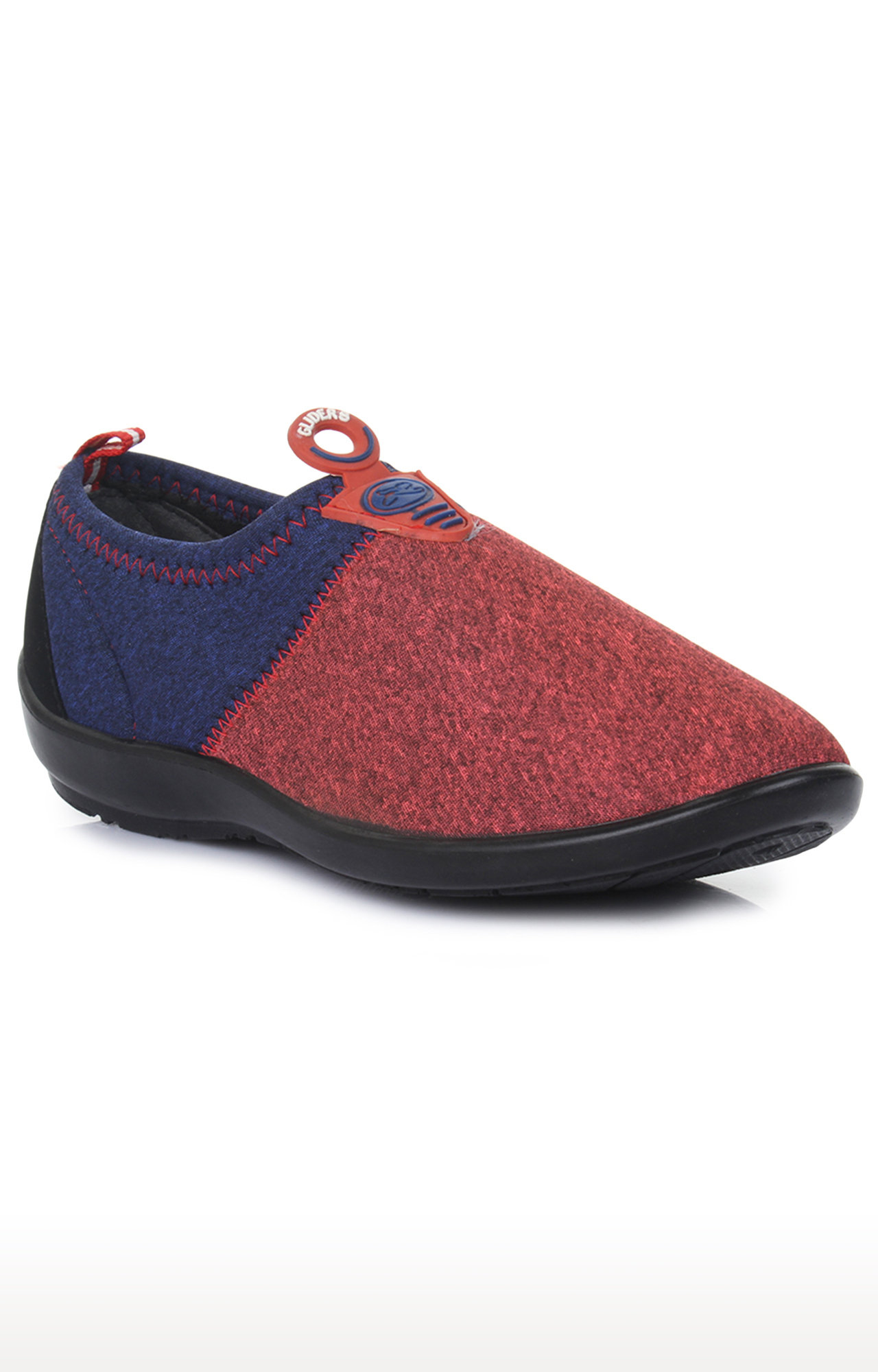 Liberty | Gliders by Liberty Maroon Casual Slip-ons