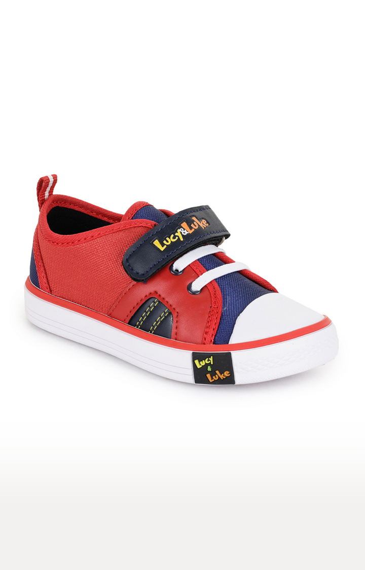 Liberty | Lucy & Luke by Liberty Red Casual Slip-ons