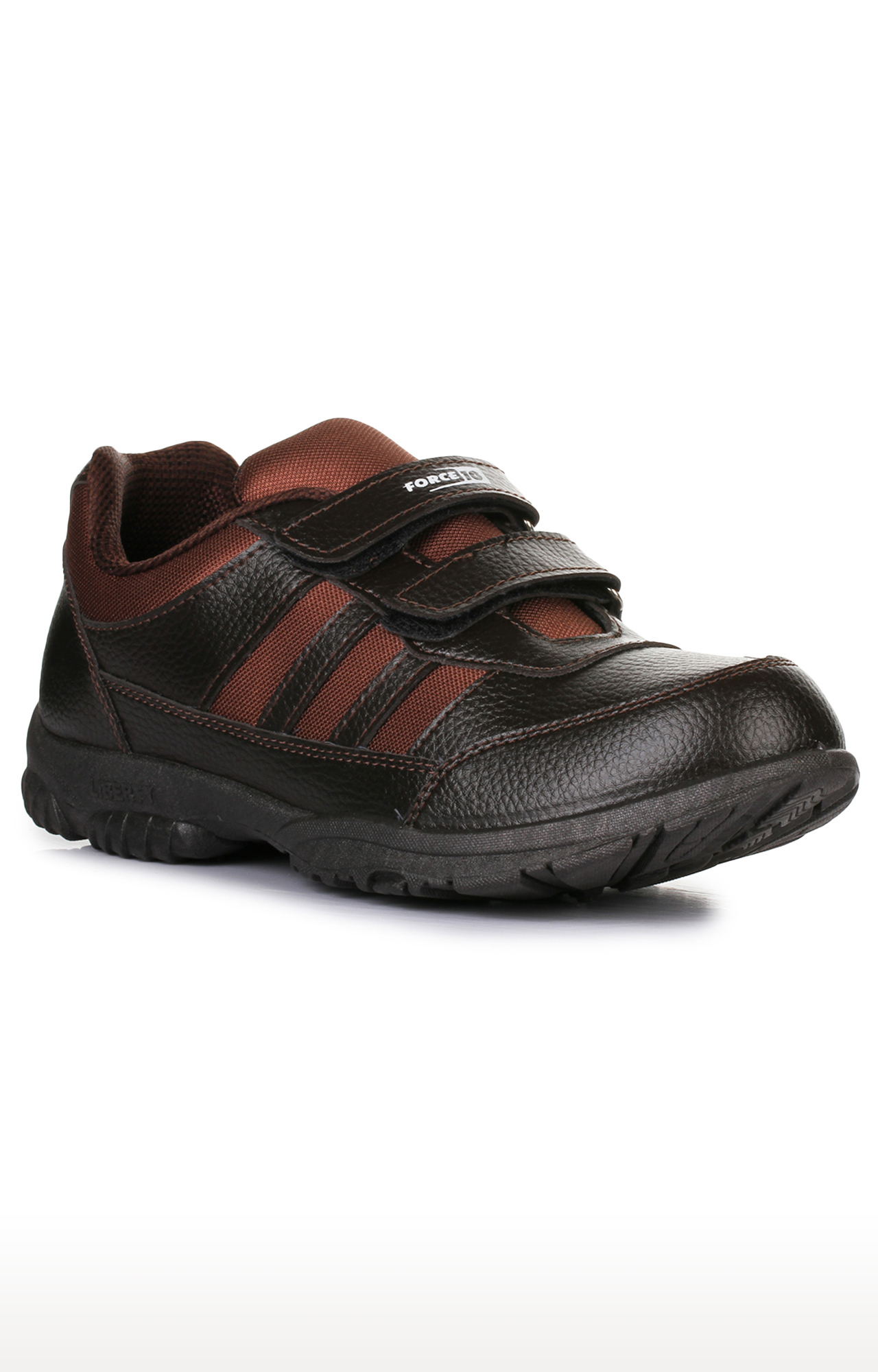 Liberty | Force 10 by Liberty Unisex Brown Indoor Sports Shoes
