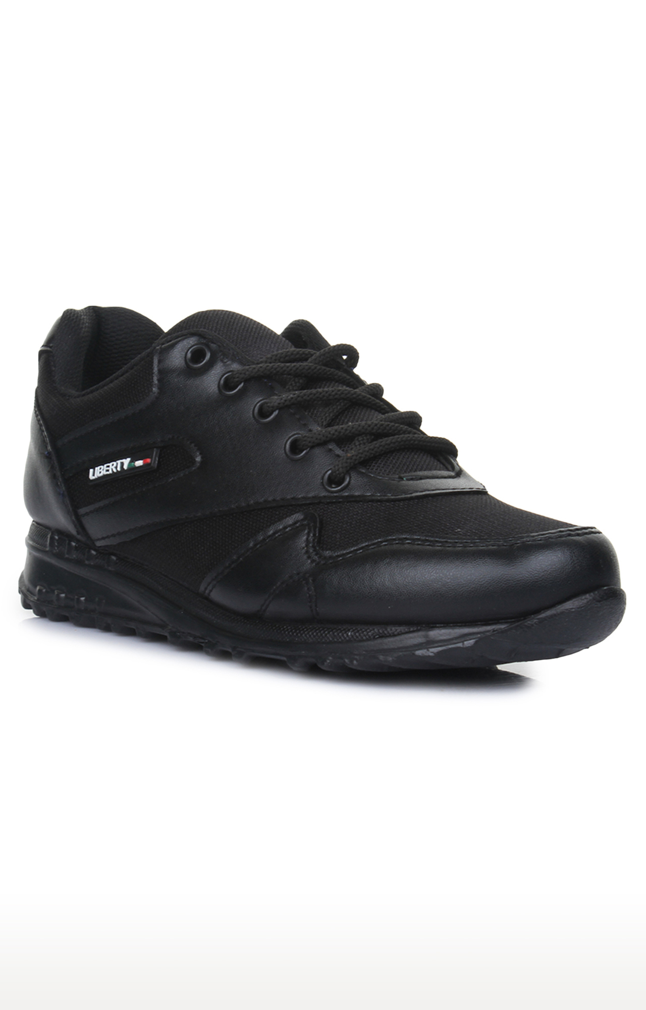 Liberty | Force 10 by Liberty Unisex Black Indoor Sports Shoes