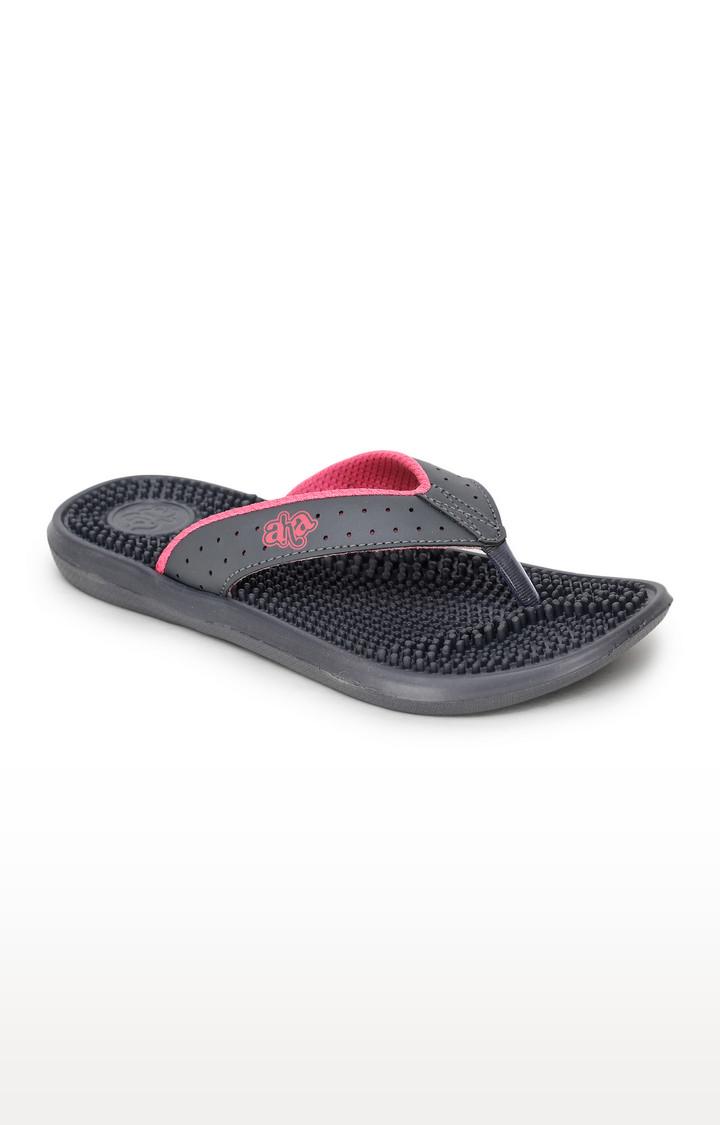 Liberty | Dark Grey Flip Flops