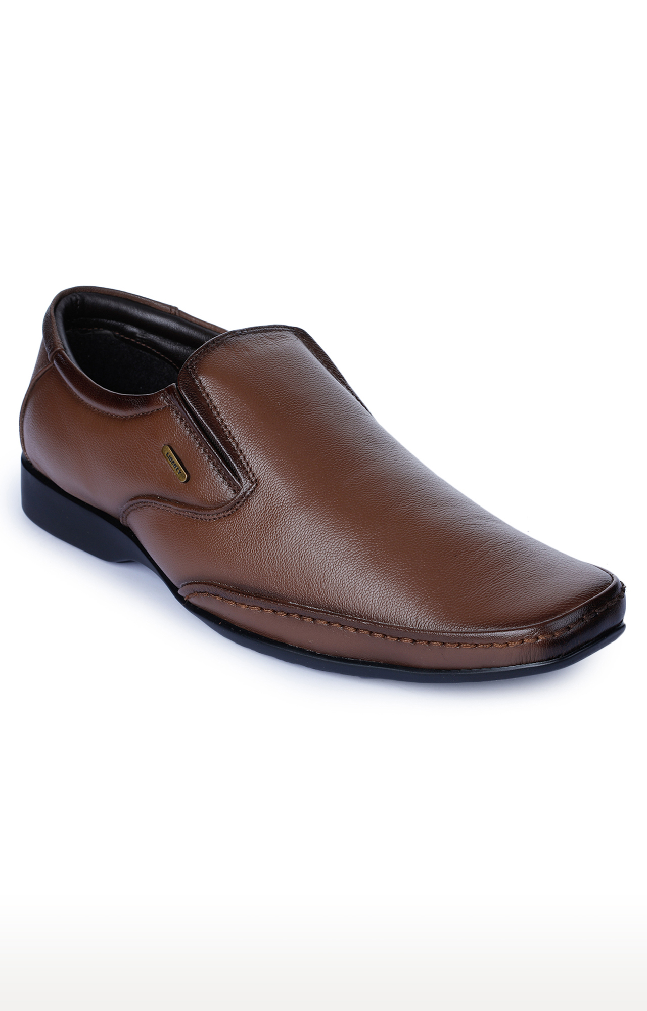 Liberty   Fortune by Liberty Light Brown Formal Slip-ons