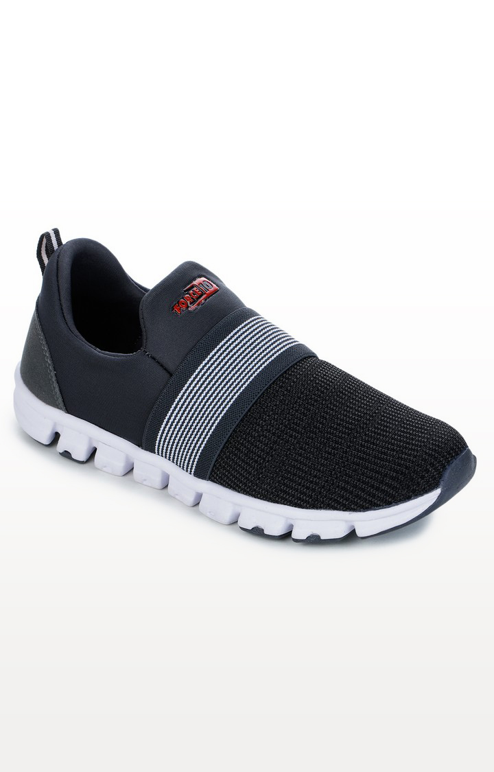 Liberty | Dark Grey Sports Shoes