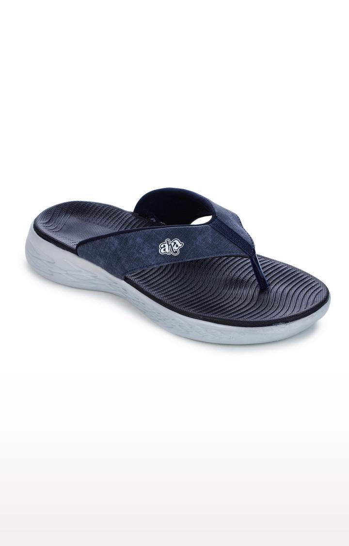 Liberty | Navy Flip Flops